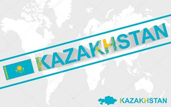 kazakhstan-map-flag-and-text